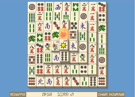Бесплатные игры онлайн маджонг солитер